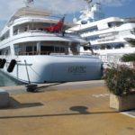 Яхти в Антібі